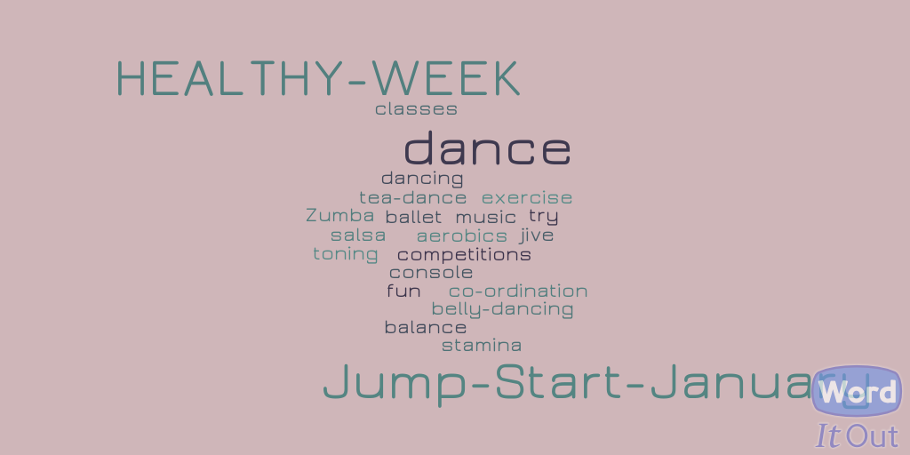 Jump Start January heathy week dance