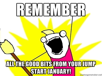 Jump Start January look back