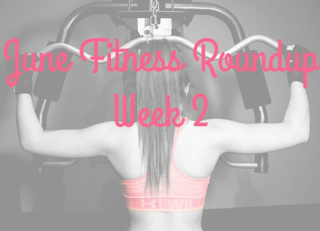 Fitness goals for June cheap free and thrifty Week 2