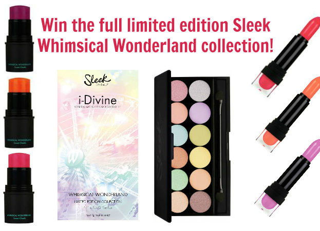 WIN Limited Edition Whimsical Wonderland collection makeup from Sleek