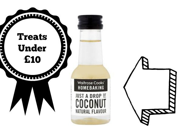 Review of Waitrose Cooks Homebaking Coconut Flavour natural flavouring