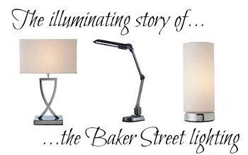 Baker Street style lamps lighting BBC Sherlock