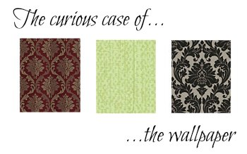 Sherlock room design makeover wallpaper Penny Golightly