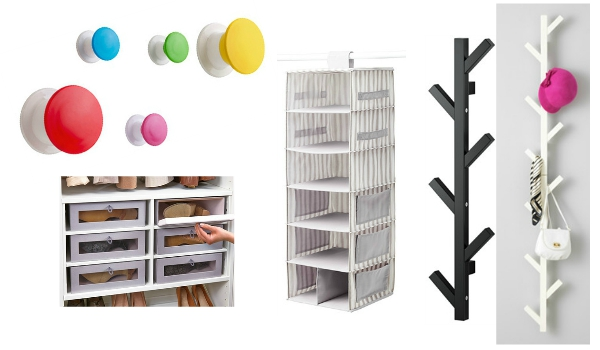 Ikea Wardrobe Organisers