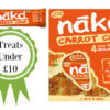 Review of Nakd carrot cake bars