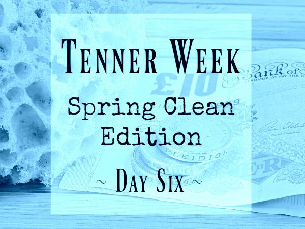 Tenner Week challenge 10 budget March 2017 Day 6 Penny Golightly