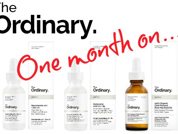 The Ordinary skincare review one month on Deciem