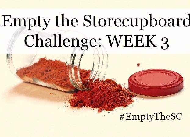 Empty the Storecupboard Challenge store cupboard food waste Penny Golightly Week 3 Three roundup