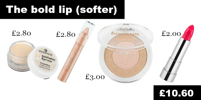 Catwalk makeup looks for less The Bold Lip look designer dupes cheap cosmetics