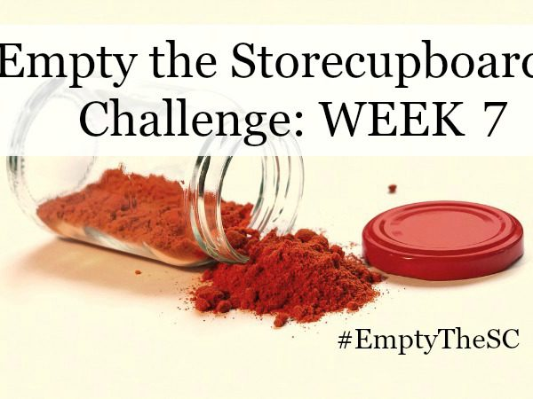Empty the Storecupboard Challenge store cupboard food waste Penny Golightly roundup Week 7