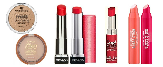 Spring Summer 2017 catwalk makeup looks for less ss17 the bold lip look softer look designer dupes drugstore prices