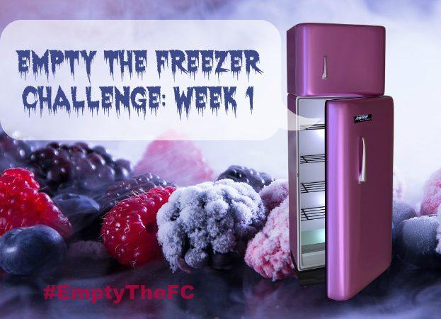 Empty The Freezer Challenge 2017 Week 1 EmptyTheFC Penny Golightly
