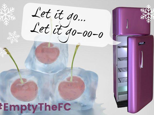 Empty the Freezer Challenge July 2017 EmptyTheFC Penny Golightly