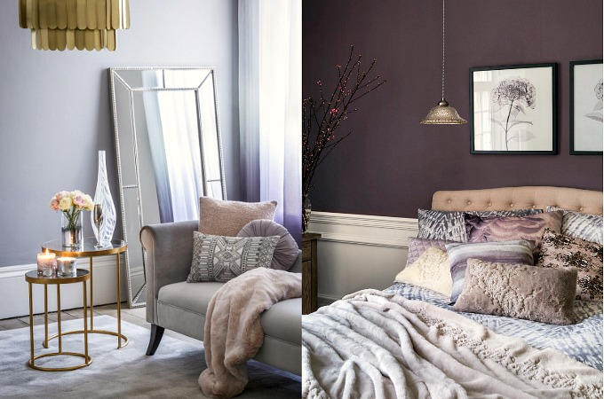 AW17 home trends on a budget designer looks Grey Pink and Girly Glam Debenhams and Marks and Spencer