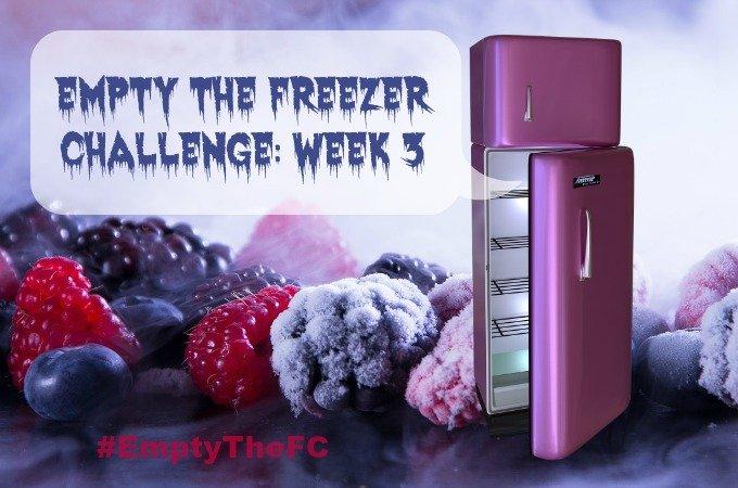 Empty The Freezer Challenge 2017 Week 3 EmptyTheFC Penny Golightly