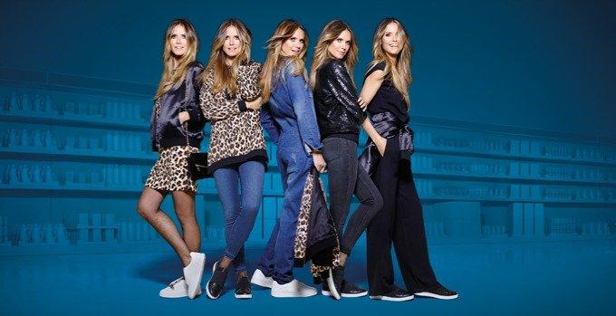 Heidi Klum LIDL collaboration Esmara fashion