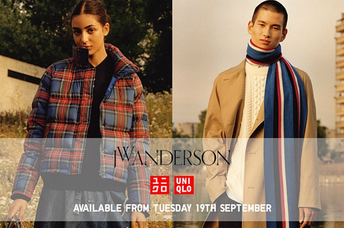 JW Anderson UNIQLO models and launch date AW17 2017