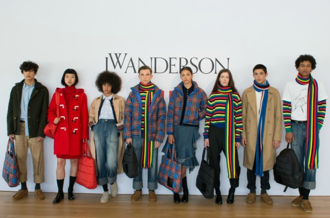 JW Anderson x UNIQLO AW17 menswear womenswear fashion designer collaboration