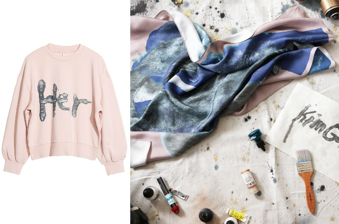 andotherstories x Kim Gordon collaboration AW17 2017 And Other Stories collection