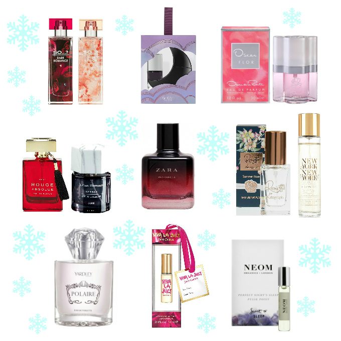 Gift Guide fragrance perfume under ten pounds 10 bargain budget scent