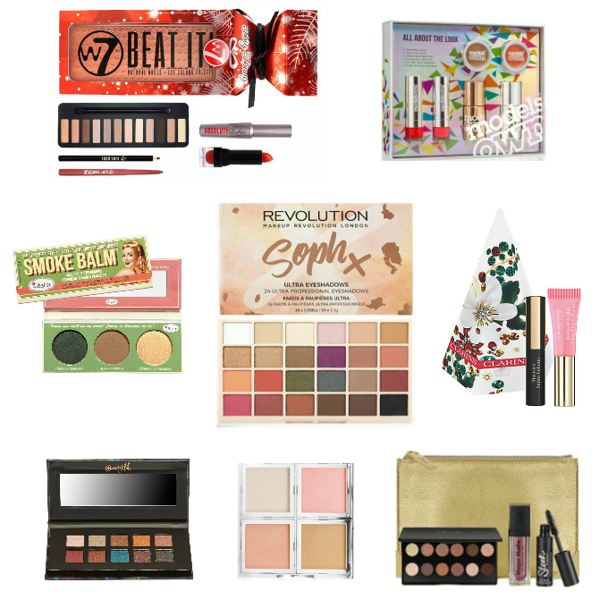 Gift guide christmas 2017 beauty makeup cosmetics sets and palettes under 10