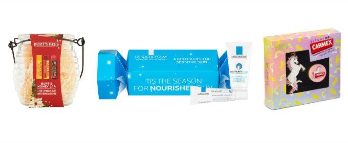 Xmas 2017 beauty gift guide lip treats under 10 pounds lip balm