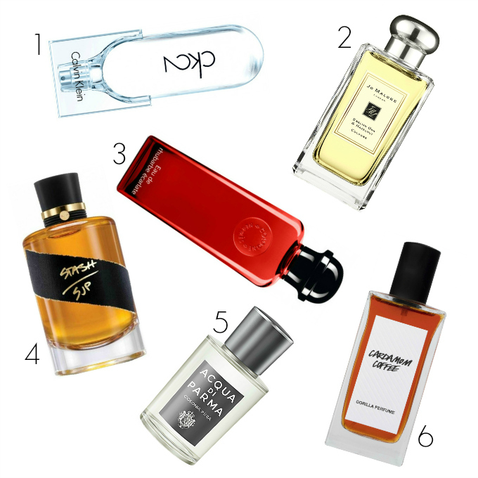 unisex fragrance gift guide Christmas 2017 perfume scent after shave ungendered nongendered