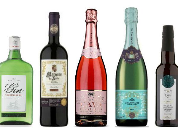 Best value Christmas drinks alcohol 2017 best buys award winning taste test
