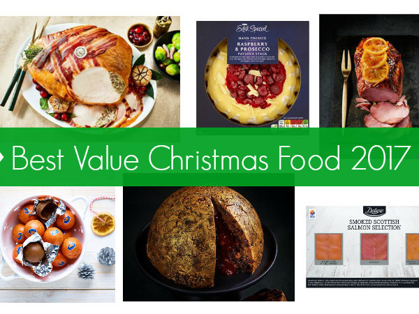 Christmas food best buys value for money groceries