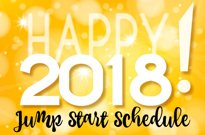 Jump Start January 2018 weekly schedule