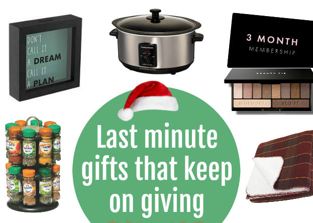 Worthwhile last minute Christmas gifts that are useful and helpful