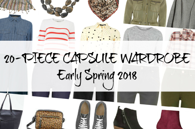 Penny Golightly capsule wardrobe early Spring 2018 intro image
