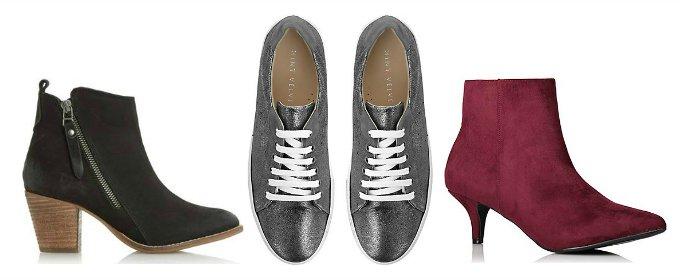 Penny Golightly capsule wardrobe early spring 2018 shoes boots heels footwear