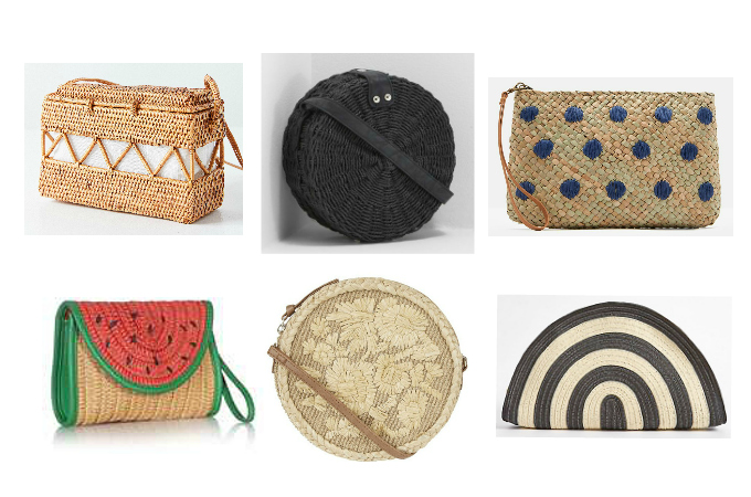 63d65154a8 Catwalk to High Street  Straw bags and wicker baskets
