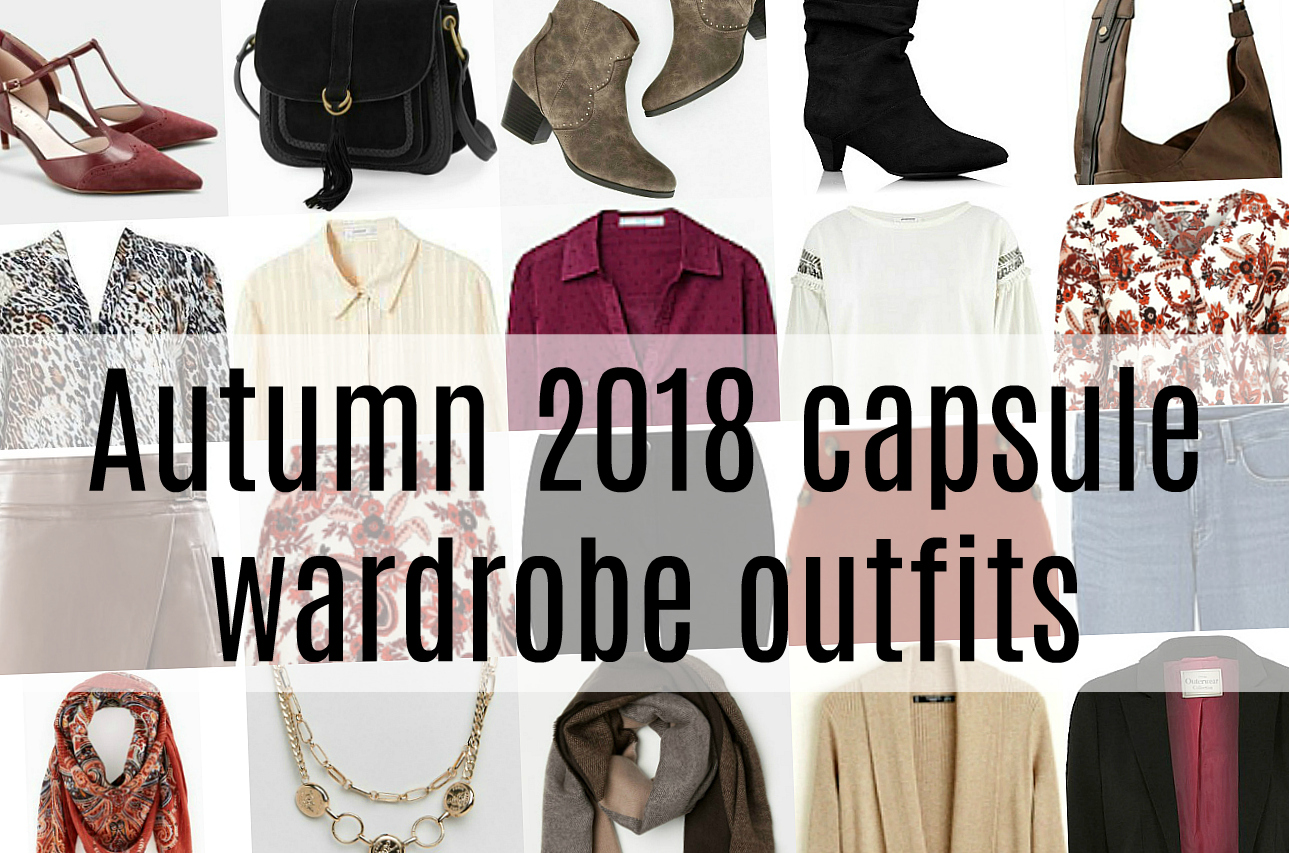 Autumn 2018 capsule wardrobe outfits   Penny Golightly