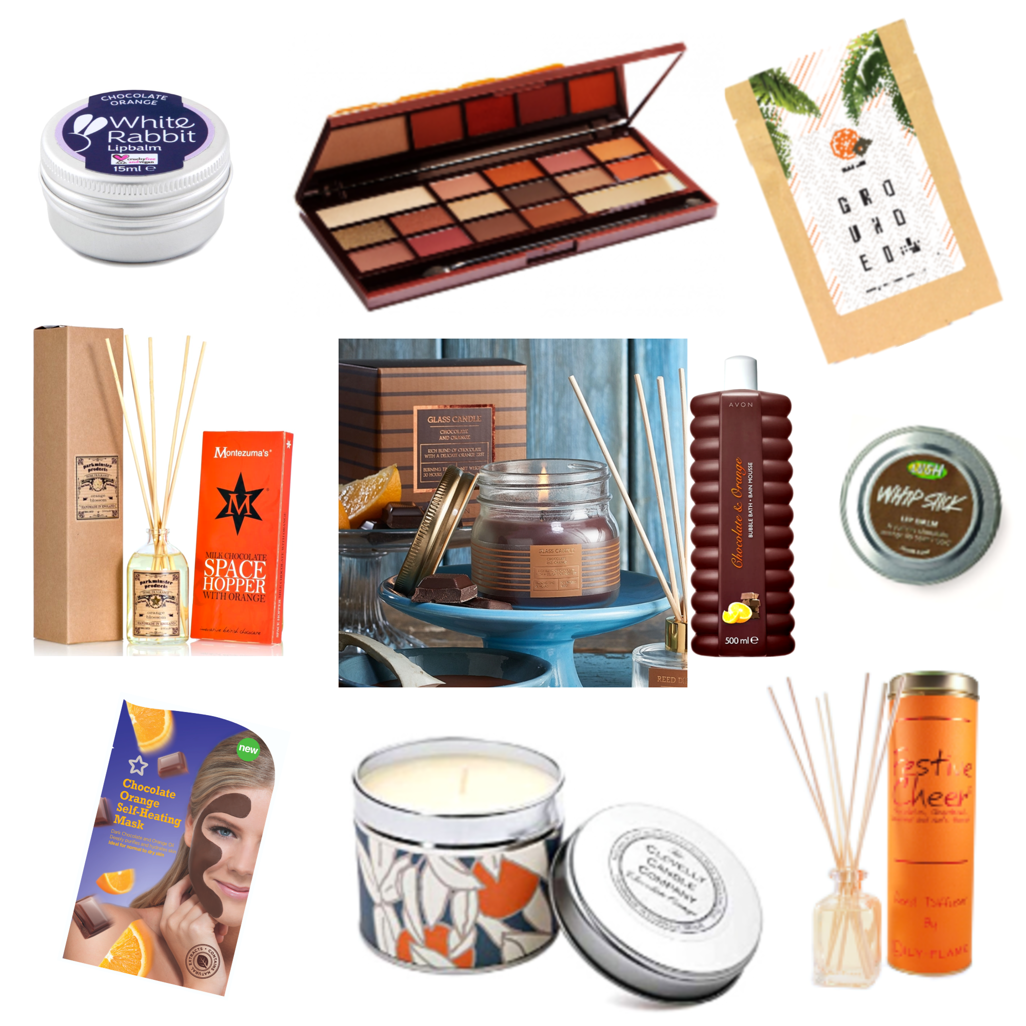 Christmas Gift Guide Chocolate Orange Stocking Fillers